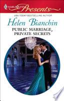 Public Marriage  Private Secrets Book
