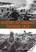 Survey Of German Tactics 1918