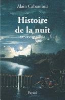 Histoire de la nuit ebook
