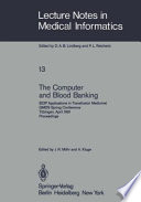 The Computer and Blood Banking Book