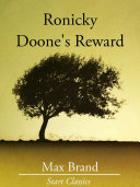 Pdf Ronicky Doone's Reward
