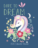 Dare to Dream 2020 Calendar Planner