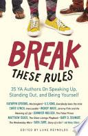 Break These Rules Book PDF