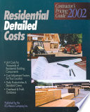 Residential Detailed Costs