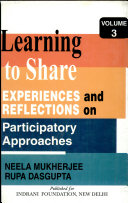 Learning to Share  Experiences and reflections on participatory approaches