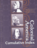 Colonial America Reference Library Cumulative Index