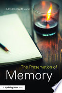 The Preservation of Memory Book