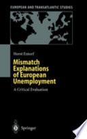 Mismatch Explanations of European Unemployment