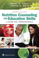 Cover of Nutrition Counseling and Education Skills for Dietetic Professionals