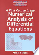 A First Course In The Numerical Analysis Of Differential Equations Book PDF