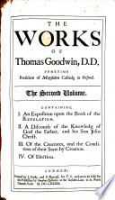 The Works of T  G   With Preface to Vol  1  by T  Owen and J  Barron