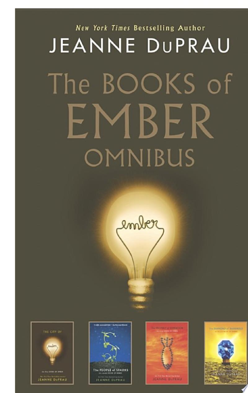 The Books of Ember Omnibus banner backdrop