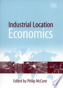 Industrial Location Economics