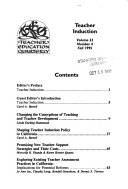 Teacher Education Quarterly