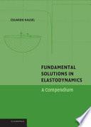 Fundamental Solutions in Elastodynamics Book