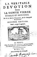 La veritable Devotion envers la Sainte Vierge ebook