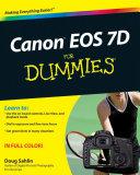 Canon EOS 7D For Dummies
