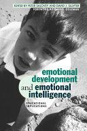 Emotional Development And Emotional Intelligence Book PDF