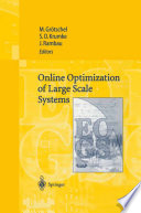 Online Optimization of Large Scale Systems