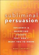 Subliminal Persuasion Book