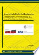 Uncertainty in Mechanical Engineering