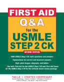 First Aid Q&A for the USMLE Step 2 CK, Second Edition Pdf/ePub eBook