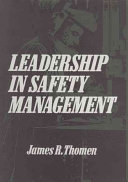 Leadership in Safety Management Book