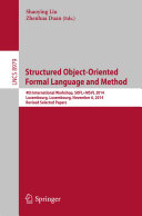 Structured Object Oriented Formal Language and Method