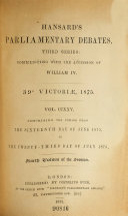 Pdf The Parliamentary Debates (Authorized Edition)