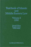 Yearbook Of Islamic And Middle Eastern Law 1995