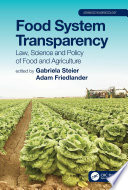Food System Transparency