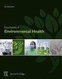 Encyclopedia of Environmental Health Pdf/ePub eBook