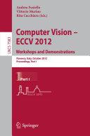 Computer Vision    ECCV 2012  Workshops and Demonstrations