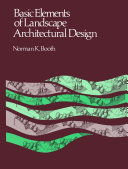 Basic Elements of Landscape Architectural Design [Pdf/ePub] eBook