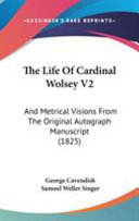 The Life of Cardinal Wolsey V2