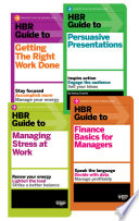 The Hbr Guides Collection 8 Books Hbr Guide Series  Book PDF