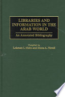 Libraries And Information In The Arab World