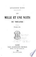 Les milles et une nuits du théâtre