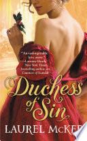 Duchess of Sin Book