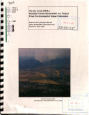 Idaho Panhandle National Forest  N F    Myrtle Creek HFRA  Healthy Forests Restoration Act Project
