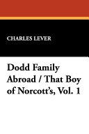 Dodd Family Abroad / That Boy of Norcott's Pdf/ePub eBook