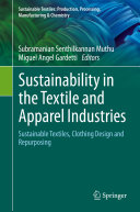 Sustainability in the Textile and Apparel Industries Pdf/ePub eBook