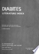 Diabetes Literature Index
