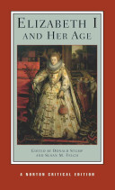 Cover of Elizabeth I and Her Age