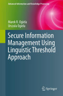 Pdf Secure Information Management Using Linguistic Threshold Approach