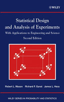 Statistical Design and Analysis of Experiments Pdf/ePub eBook