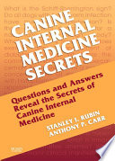 Canine Internal Medicine Secrets E-Book