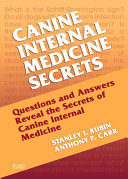 Canine Internal Medicine Secrets E Book