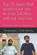 Top 5 Steps that Worked for Me to Lose 54 Kilos Without Exercise Book PDF