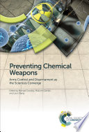 Preventing Chemical Weapons Book PDF
